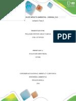 Unidad 2 Fase 2 Evaluacion de Impacto Ambiental - (358032a_612