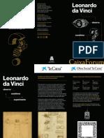Leonardo Da Vinci Folleto Es