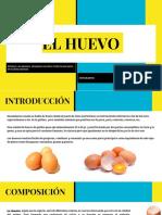 EL HUEVO, Nutriente Excepcional