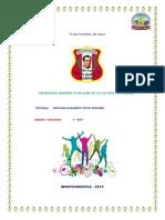 Plan Tutorial de Aula 2019 Cuarto a-e