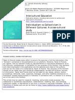 2019-Individualism vs Collectivism InDifferent Cultures a Cross-culturalstudy