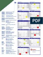 hrce school calendar 2019-20