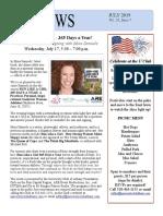 July 2019 Newsletter Final