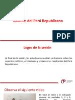 Clase Balance Del Peru Republicano