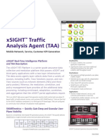 Xsight Traffic Analysis