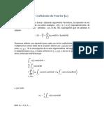 Coeficiente de Fourier