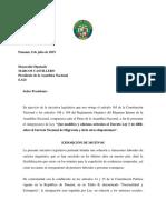 Anteproyecto de Ley sobre el Servicio Nacional de Migración de Panamá