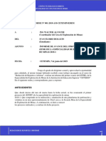 Examen de Informe Cetemin