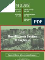 Overall Economic Condition of Bangladesh