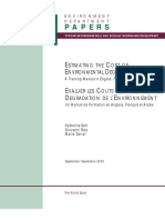 Manual-Estimating the Cost of Environmental Degradation