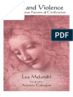 (SUNY Series in Contemporary Italian Philosophy) Lea Melandri - Love and Violence_ the Vexatious Factors of Civilization-Suny Press (2019)