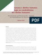 Dignidade Humana e Direitos Humanos - Ontologia Ou Construtivismo Dos Direitos Humanos