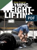 12 Week Olympic Weightlifting Program