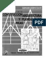 Agurto calvo, s 1987 estudios acerca de la construcción, arquitectura y planeamiento incas