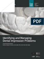 Identifying an MAnaging Dental Impressions Problems