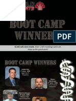 Boot Camp Winners