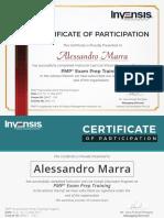 Certificate - Sample
