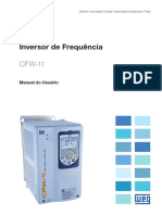 Weg Cfw11 Manual Do Usuário