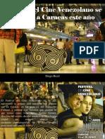 Diego Ricol - Festival Del Cine Venezolano Se Mudará a Caracas Este Año