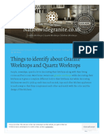 Points to Remember About Granite Worktops and Quartz Worktops