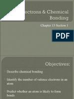 Electrons & Chem Bonding Ch 13.1 8th