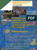 Comunidades Aprendizaje La Paz Albacete