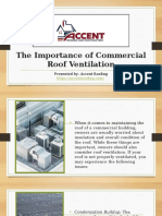 The Importance of Commercial Roof Ventilation