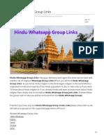 Whatsappgrouplink.org-Hindu Whatsapp Group Links