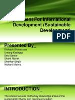 Department For International Development PPT.pptx