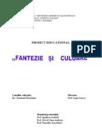 Proiect Educational Fantezie Si Culoare