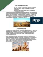Civilización Mesopotamia