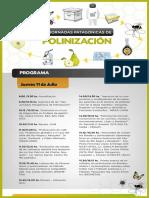 Programa 1ras. Jornadas Patagonicas de Polinizacion