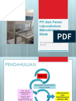 PPI Dan Peran Laboratorium Mikrobiologi Klinik