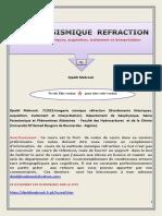 IMAGERIE SISMIQUE REFRACTION Fondements Théoriques, Acquisition, Traitement Et Interprétation