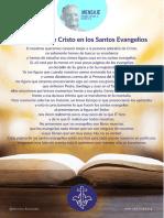 P. Dávila (La Persona de Cristo en Los Santos Evangelios)