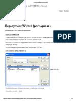 Deployment Wizard (Portuguese)