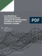 Las Altmétricas. Evaluación Publicaciones en Ciencias Humanas y Sociales - E. Abadal