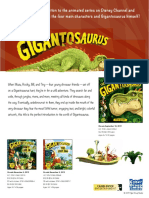Gigantosaurus Press Release