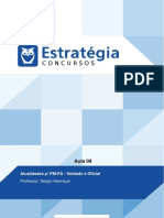 PDF Policia Militar Do Para 2016 Atualidades p Pm Pa Soldado e Oficial Aula 09