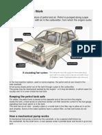 How fuel pump