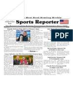 July 17 - 23, 2019  Sports Reporter