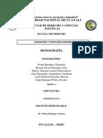 Trabajo de Criminologia Gabino 2019