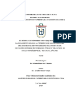 Tesis razonamiento Matematica Tacna - peru