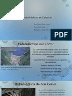 Centrales hidroelectricas en Colombia