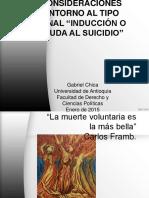 Inducción o Ayuda Al Suicidio (Penal)