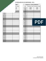 Checklist Horímetro Compressor