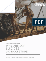 Why Are SOF Suicides Skyrocketing?