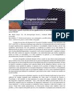 Acta 5to Congreso Genero y Sociedad Ma. Belén López