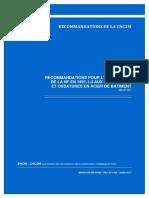 [GUIDE] BNCM-CNC2M [2017] Recommandations Pour l'Application de La NF en 1991-1-4 Aux Charpentes Et Ossatures en Acier de Bâtiment - Bncm-cnc2m-n0380-Rec_ec1-Cm-juillet2017_0
