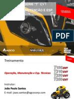 Operação, Manutenção e Esp. Tecnica - Série T Rev05 05102017